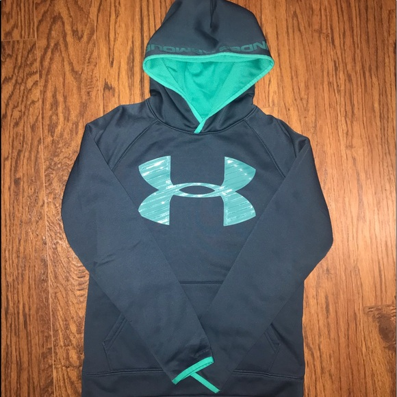 youth boys under armour hoodies